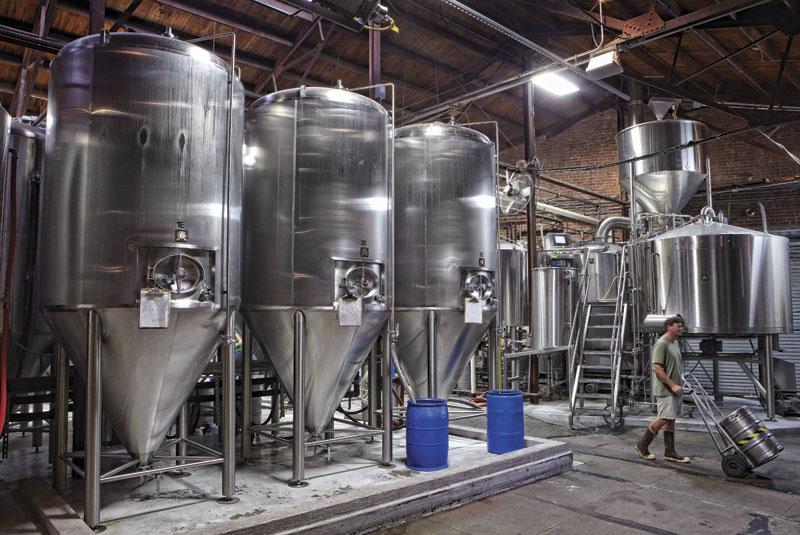 Photo by David Zickl: fermentation vessel