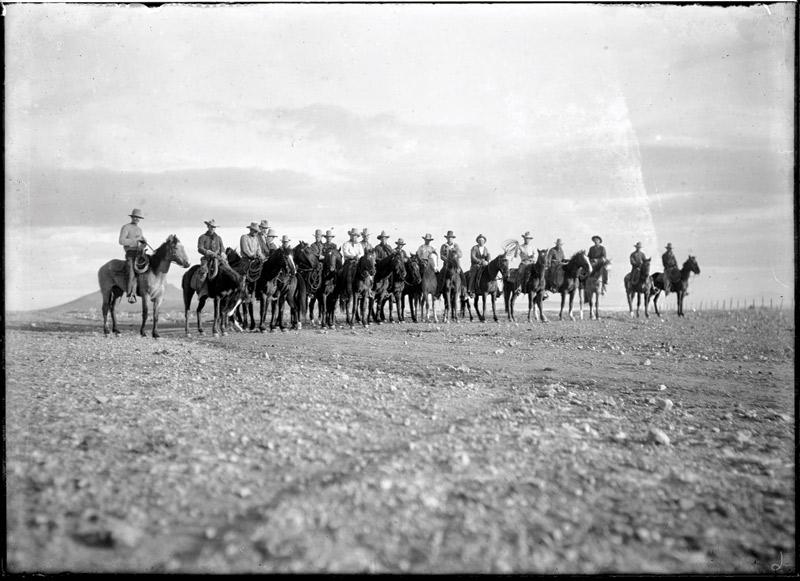Arizona cowboys in 1918