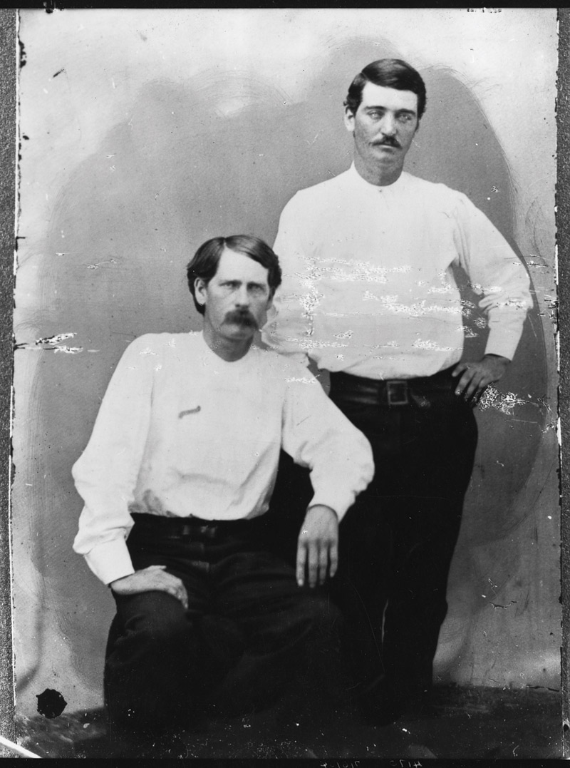 Wyatt Earp and Bat Masterson