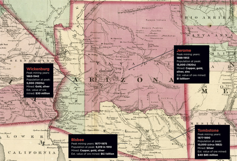 The Changing Cartography of Arizona