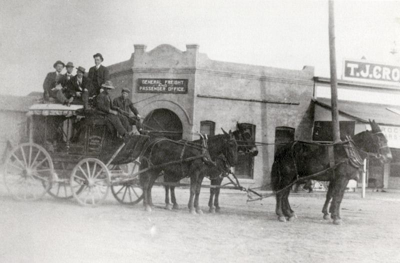 Ruffner Stagecoach in Prescott