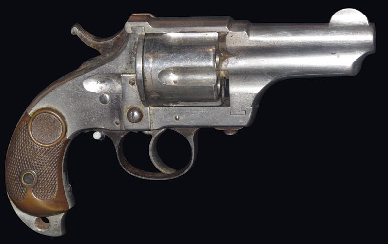 Pearl Hart's Merwin & Hulbert .44-.40 caliber pocket army pistol