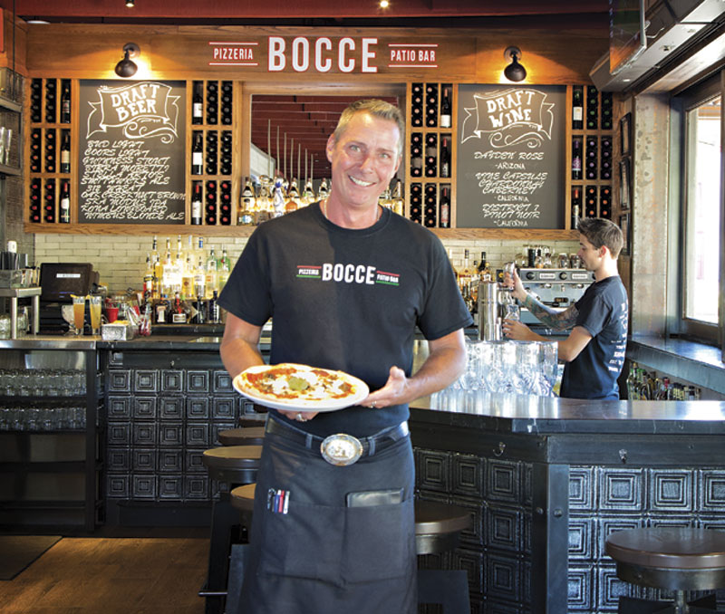 Photo by Richard Maack; Pizzeria Bocce in Cottonwood