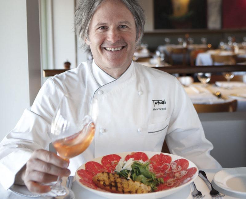 Photo by Jamie Peachey; Chef Mark Tarbell of Tarbell's