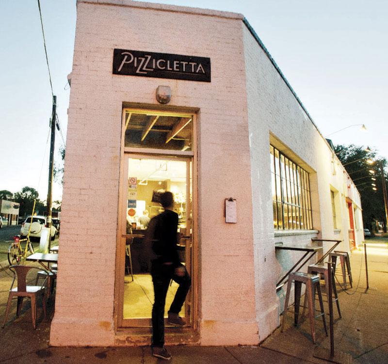 Pizzicletta in Flagstaff