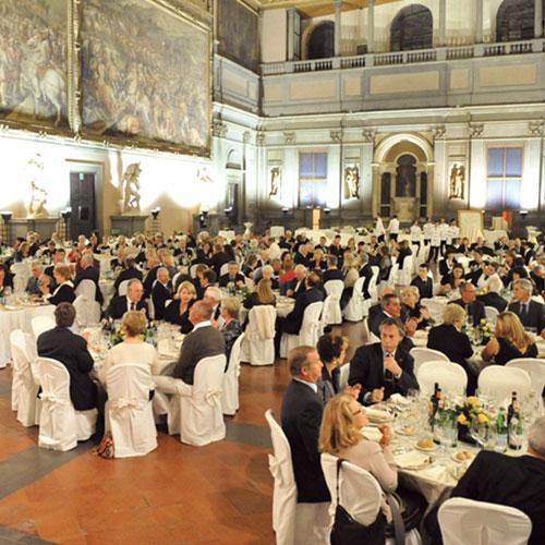 Salone dei Cinquecento at the Palazzo Vecchio