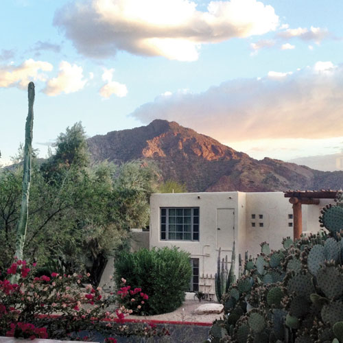 View snapped by Tara from her casita