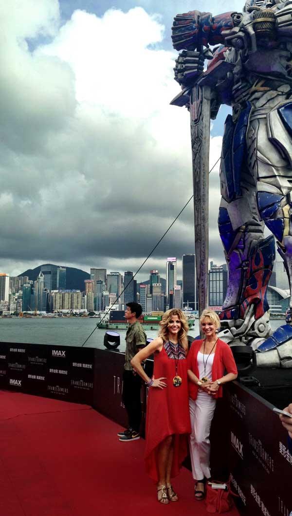 Tara Hitchcock travels to Hong Kong for vacation