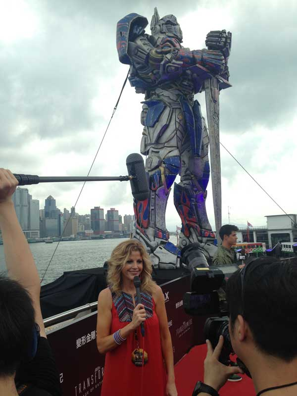 Transformers red carpet World Premiere in Hong Kong