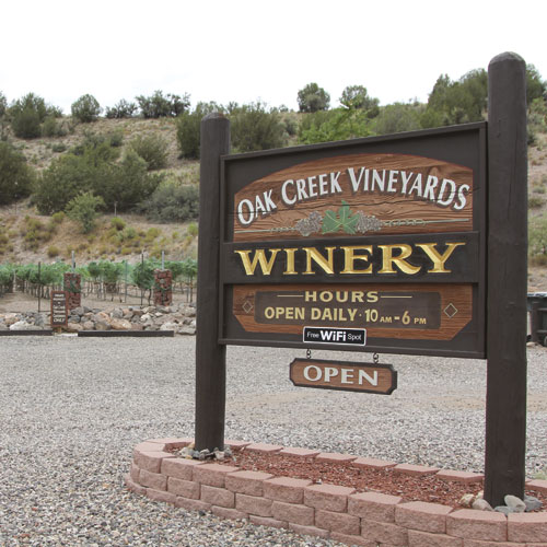 oak creek vineyard