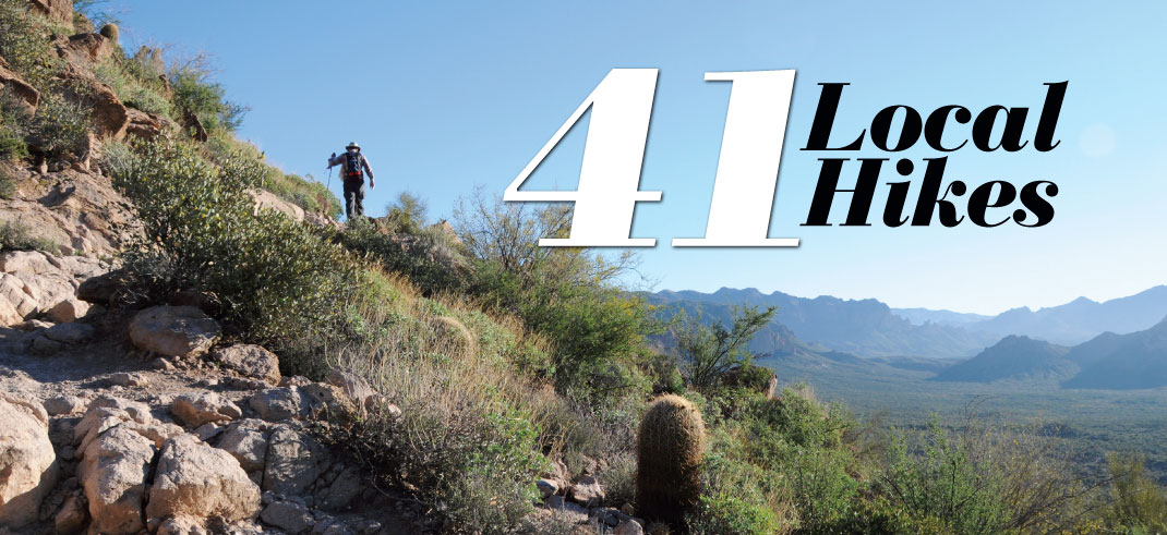 41 Local Hikes - PHOENIX magazine on echo canyon trail map, springs trail map, squaw peak hiking trail map, red mountain trail map, agua fria river trail map, piestewa peak trail map, bell rock pathway trail map, san marcos trail map, lost dog wash trail map, granite mountain trail map, san tan trail map, phoenix mountains preserve trail map, salt river trail map, bartlett lake trail map, saddle mountain trail map, mcdowell mountain regional park trail map, highland trail map, mcdowell sonoran preserve trail map, north mountain trail map, cloud peak trail map,