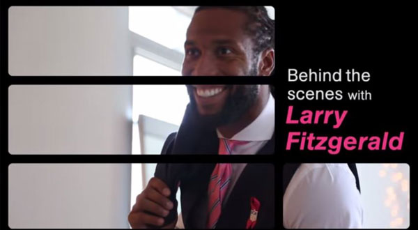 Behind the Scenes with Larry Fitzgerald