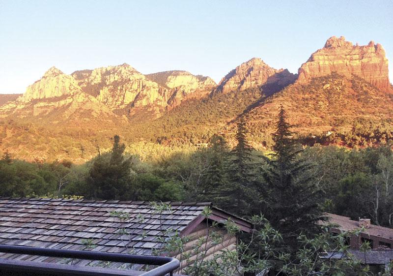 View from Brenda's Vista Suite