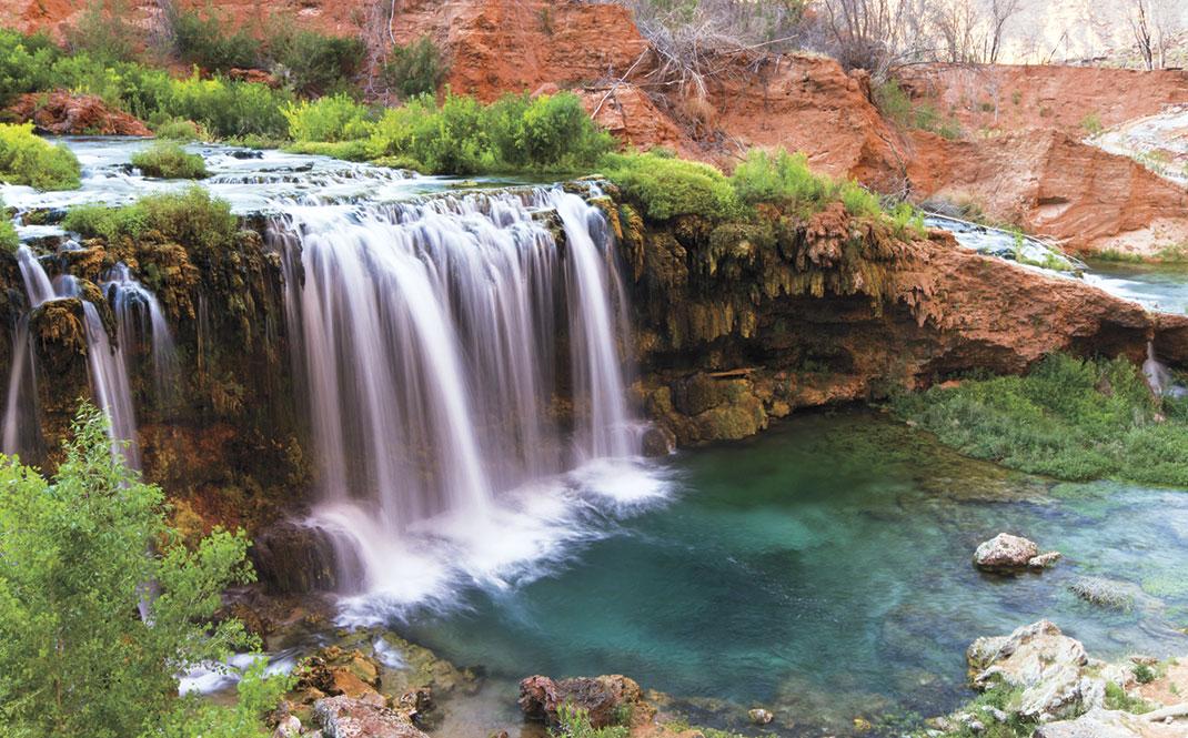 istockphoto.com; Havasu Falls in Havasupai