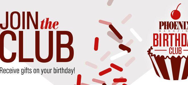 Birthday Club Promotion