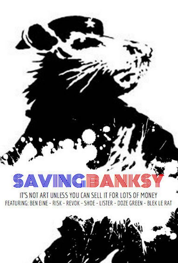 Saving Banksy poster