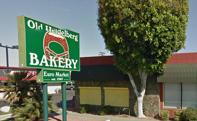 Old Heidelberg Bakery. Photo courtesy Google Maps.