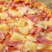 Hawaiian-style pizza