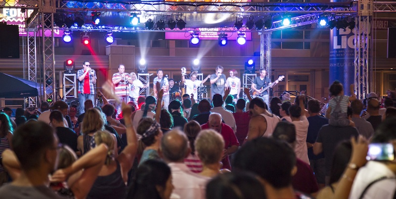 Live music at Westgate. Photo by Mark Skalny Photography.