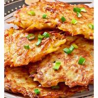 Potato Pancakes. Photo via Facebook