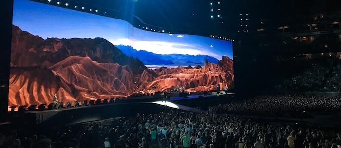 U2 performs at University of Phoenix Stadium. Photo by Nikole Tower.