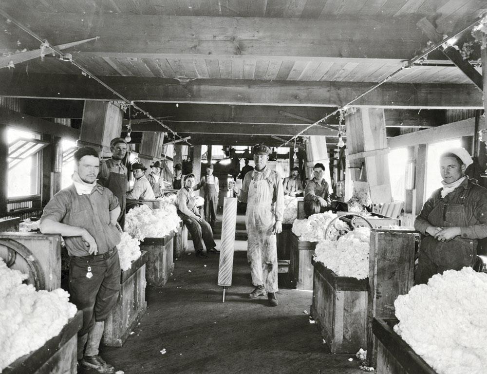 cotton gin at Goodyear, 1920
