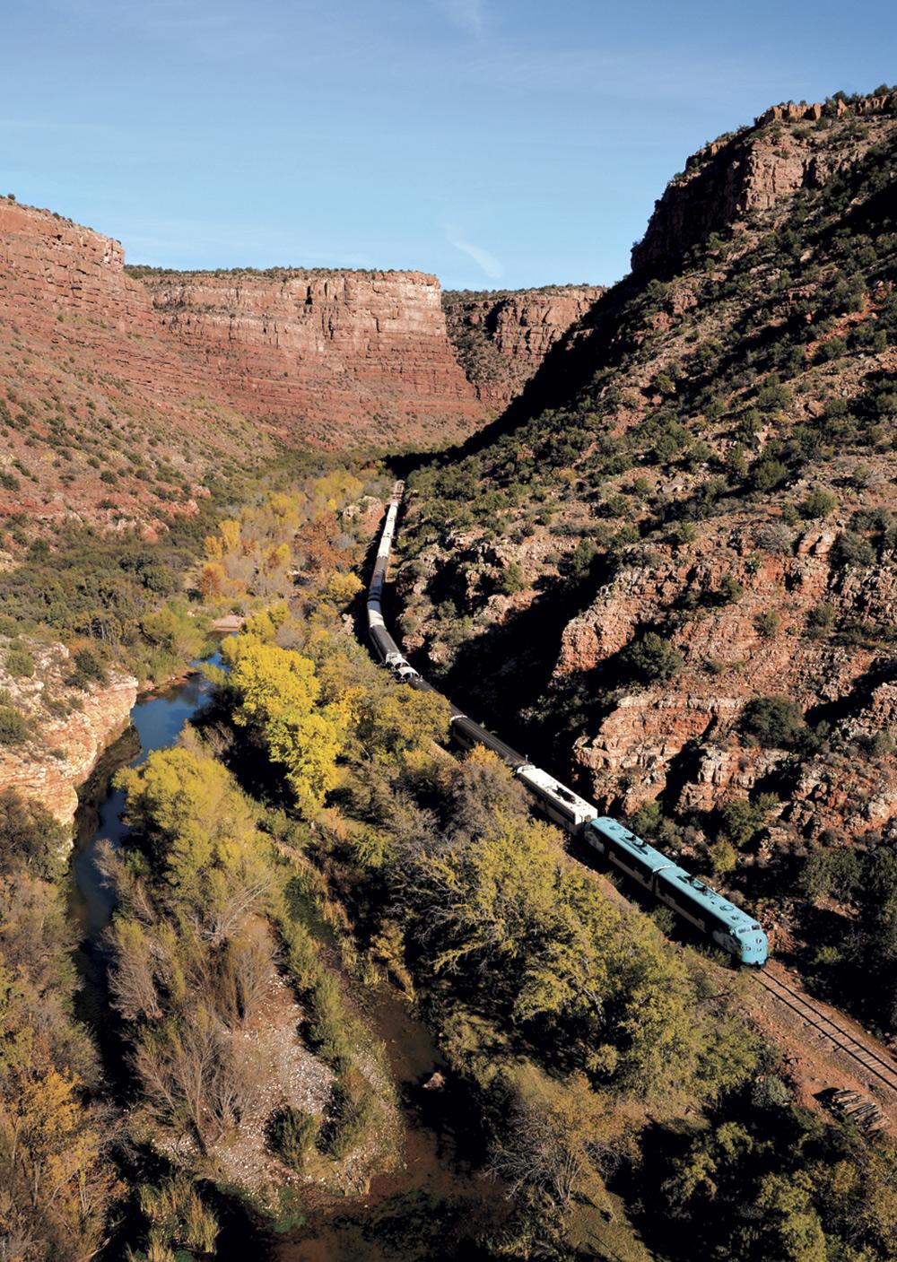 Verde Canyon Railroad; Photo courtesy Verde Canyon Railroad