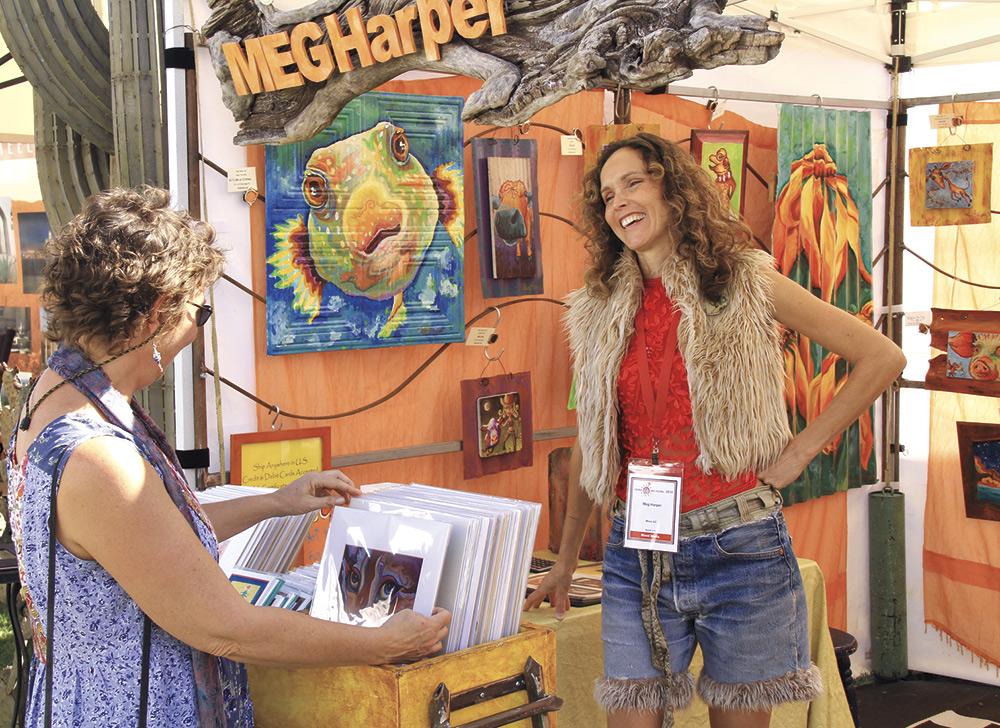 Sedona Arts Festival; photo courtesy Sedona Arts Festival