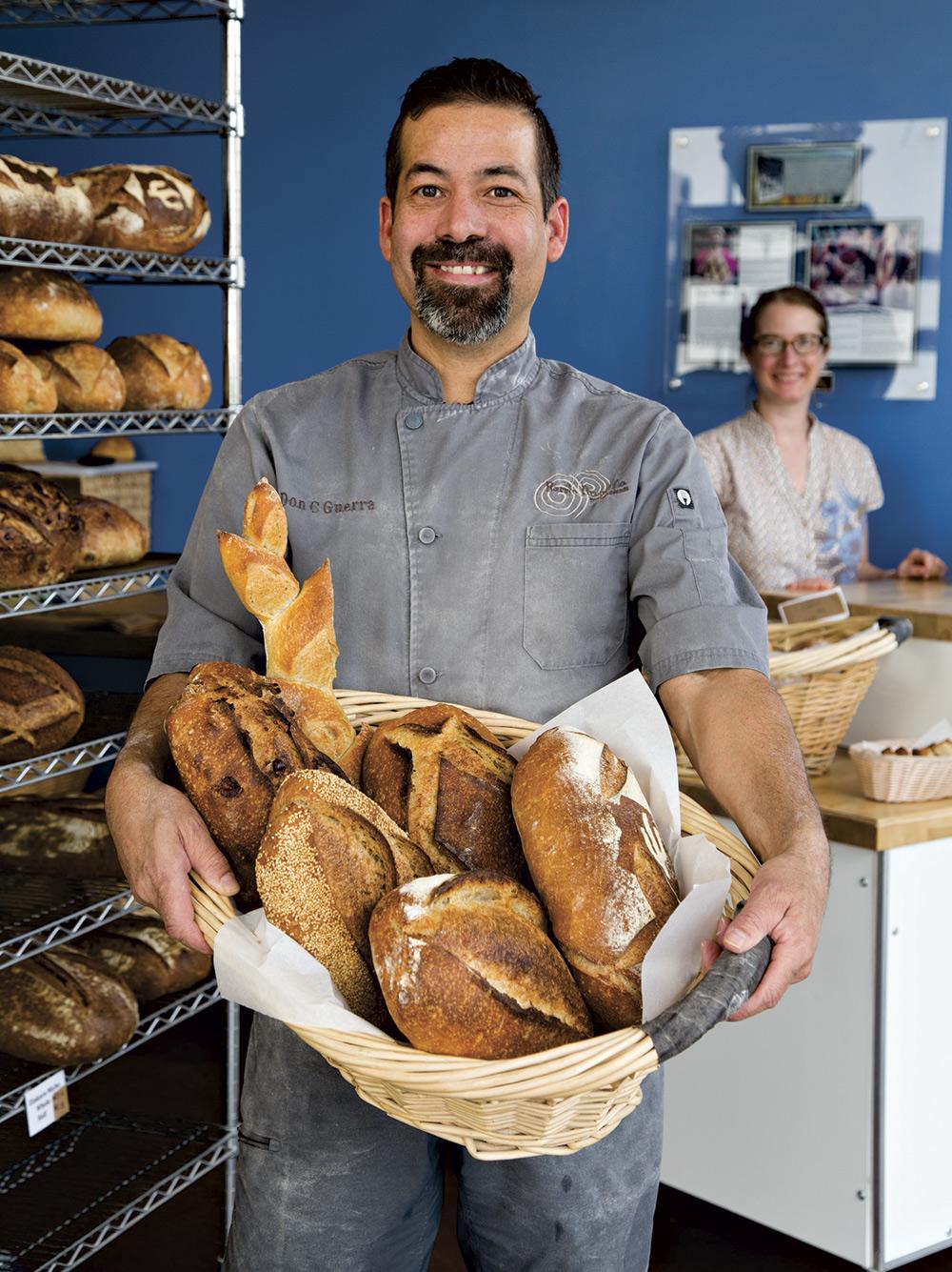 Barrio Bread owner Don Guerra; photo by Mirelle Inglefield
