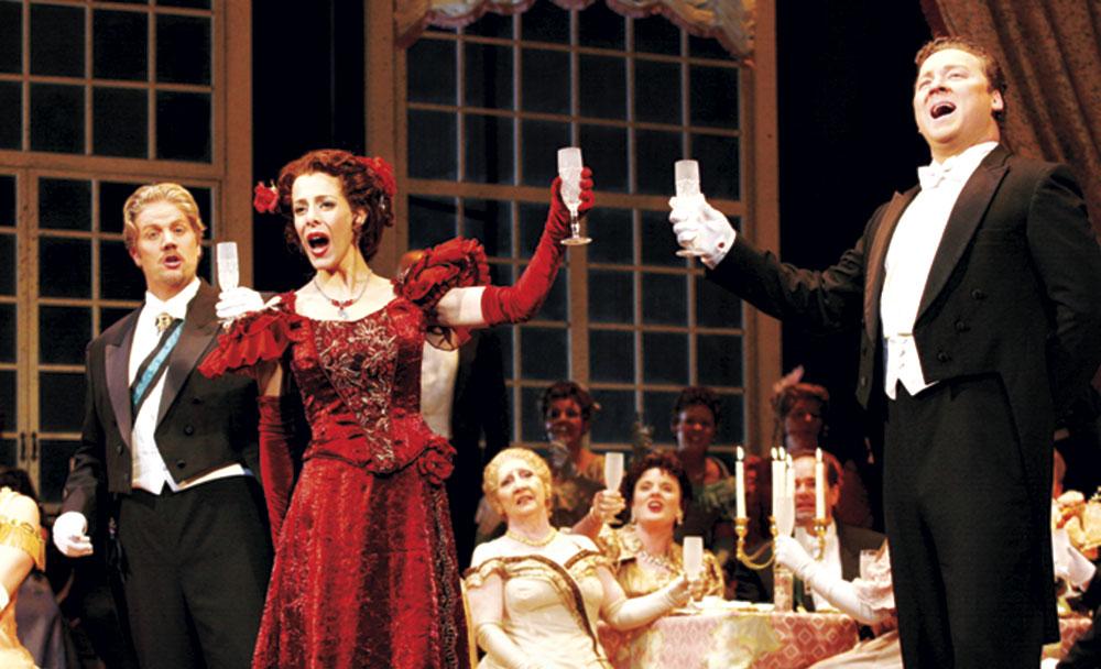 La Traviata; photos courtesy James Gill Photography; Utah Opera