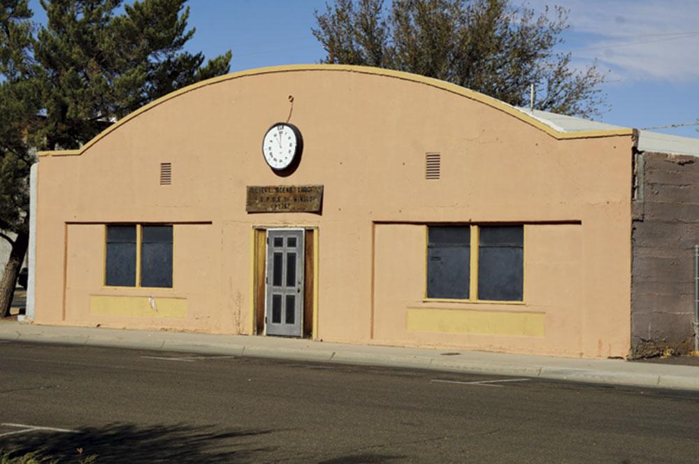the Winslow Black Elks Lodge; Photo courtesy Douglas C.Towne;