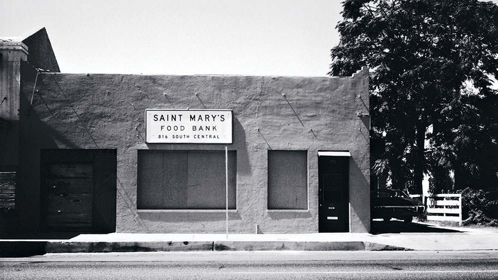 The first location of St. Mary's Food Bank; photo courtesy St. Mary's Food Bank