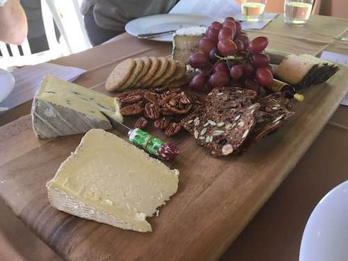 Cheese board construction. Photo by Teresa K. Traverse.