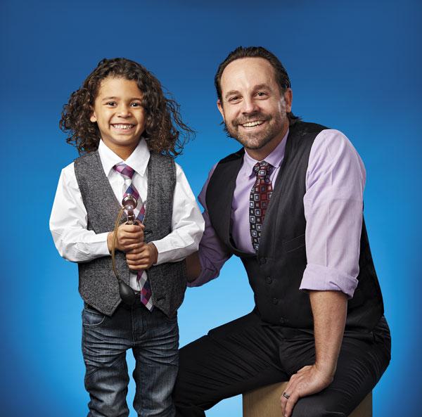 2018 Top Doctor: Matt Barcellona with pediatric patient Jaxon Wells