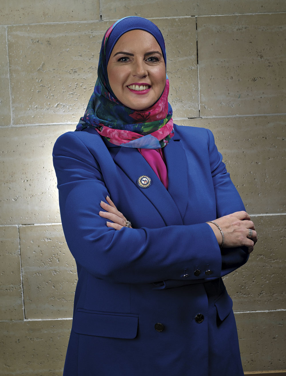 Deedra Abboud - The Activist; photo by Michael Woodall