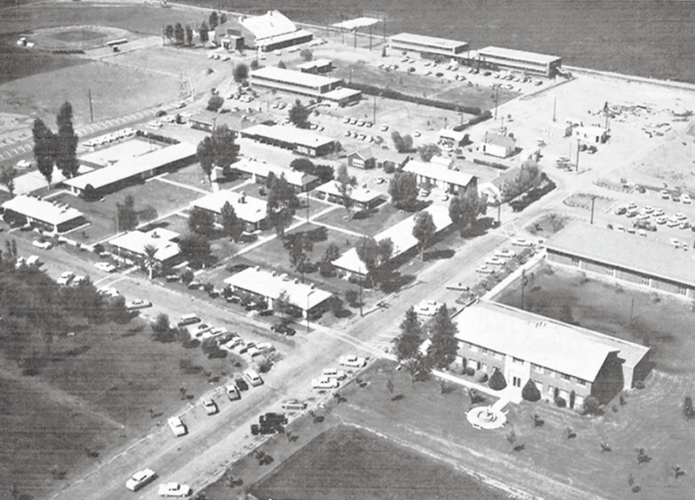 GCU after relocating to Phoenix, circa 1960; Photo courtesy Grand Canyon University