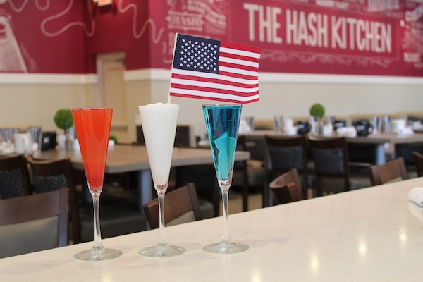 Hash Kitchen 4th of July Mimosa