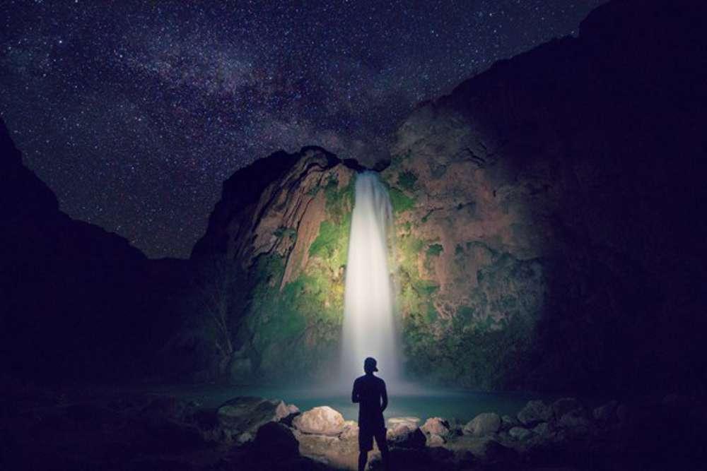 "Delbert Vega ""Havasupai  Under the Stars"""