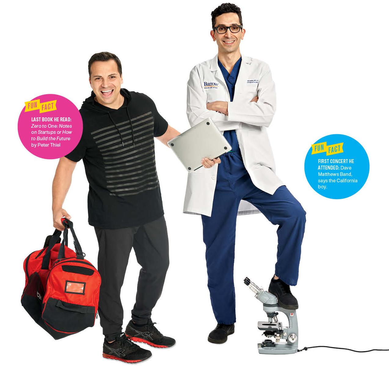The Health Czars: Michael Jodscheidt(left), Zaman Mirzadeh(right)