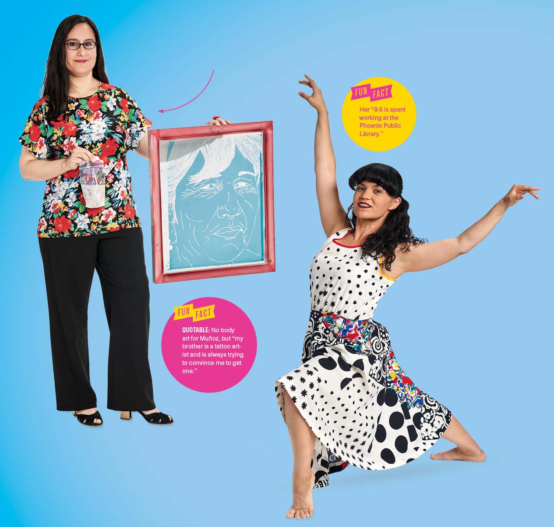 The Artists: Gabriela Muñoz(left), Liliana Gomez-Dieckman(right)