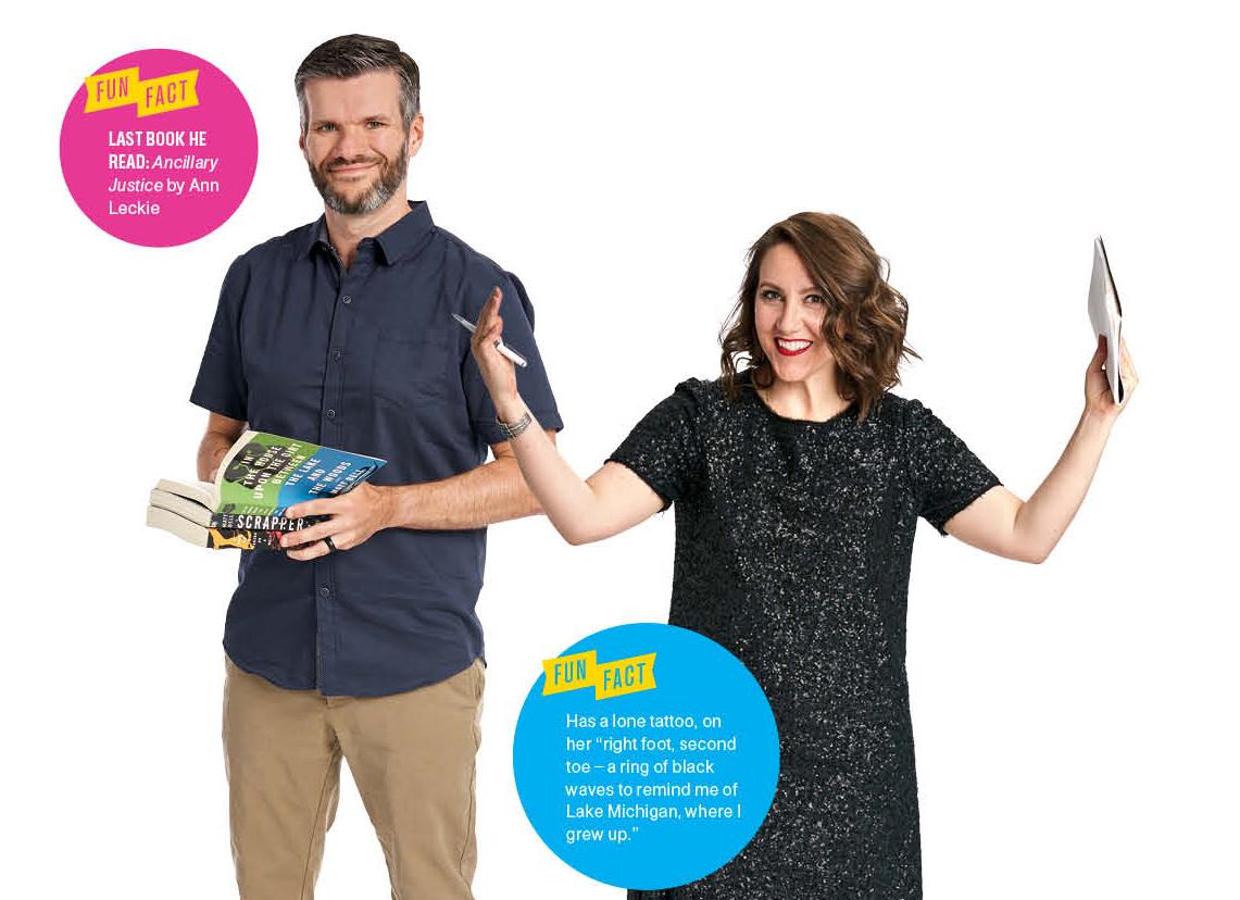 The Story Tellers: Matt Bell, Megan Finnerty
