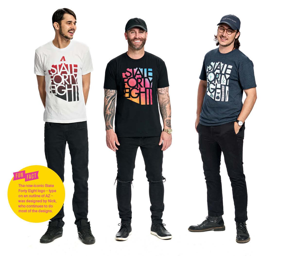 The Fashionistos: Stephen Polando, Mike Spangenberg, Nicholas Polando