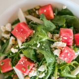 Recipe Friday: Sauce Watermelon and Arugula Salad