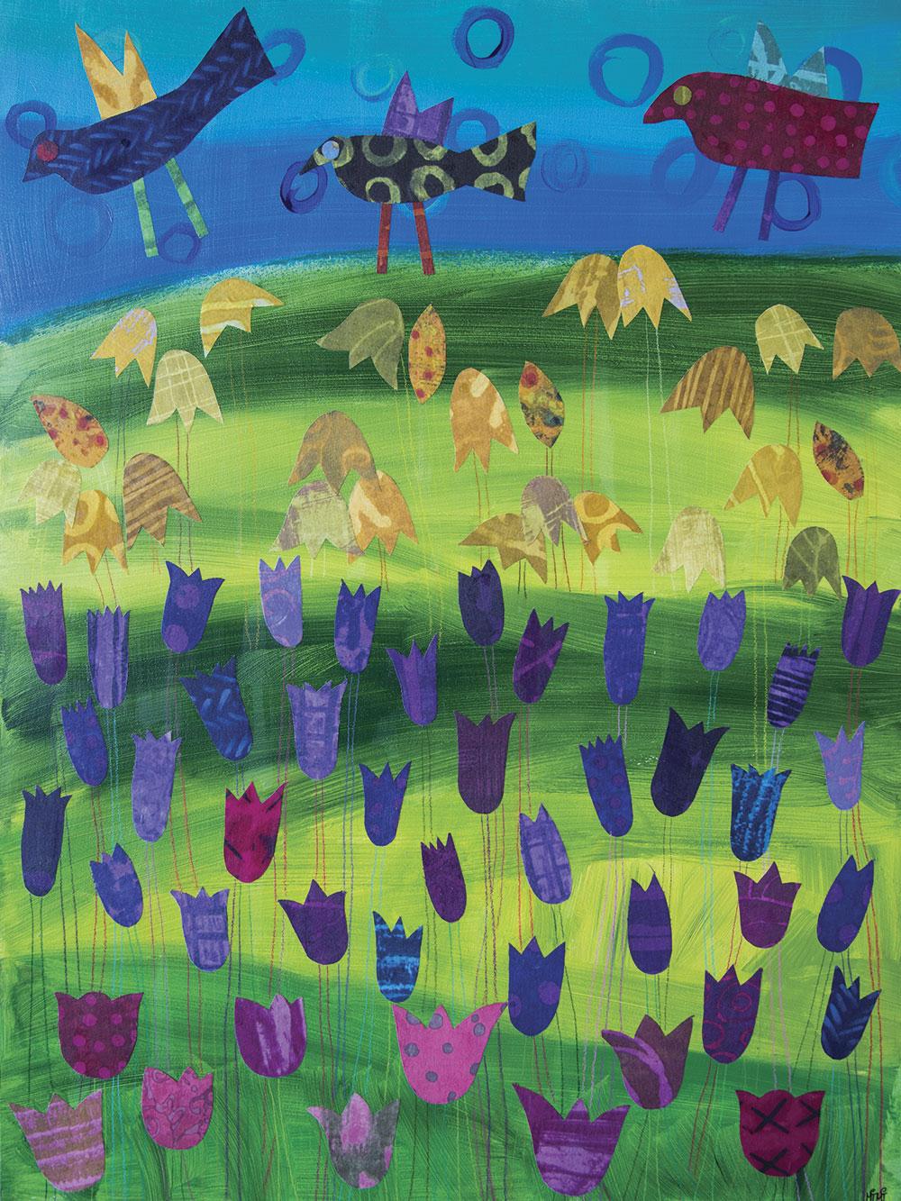 """""""Tulip Field Trip No. 2"""" by Mimi Damrauer"""