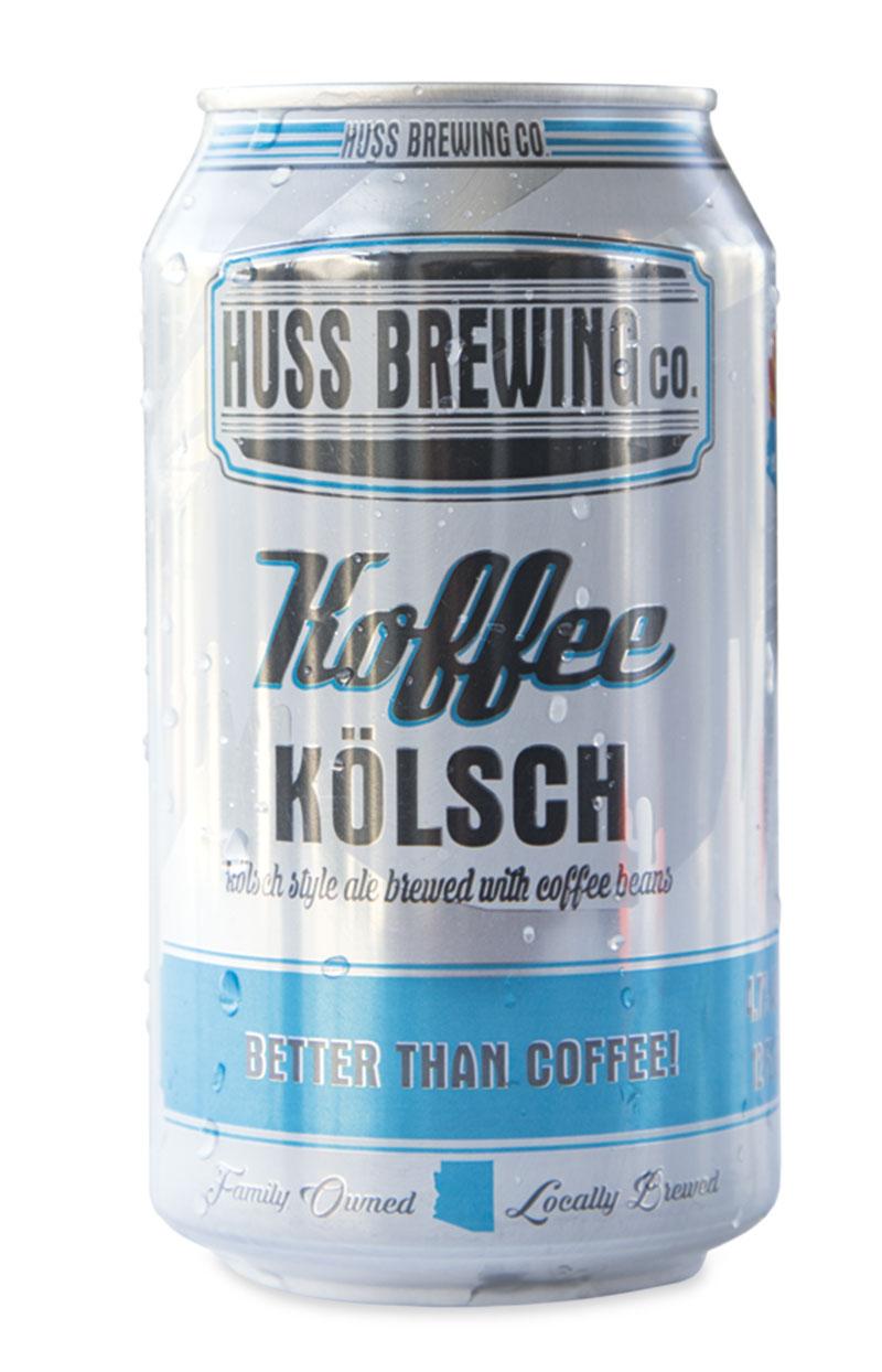 Huss Brewing Co. Koffee Kölsch