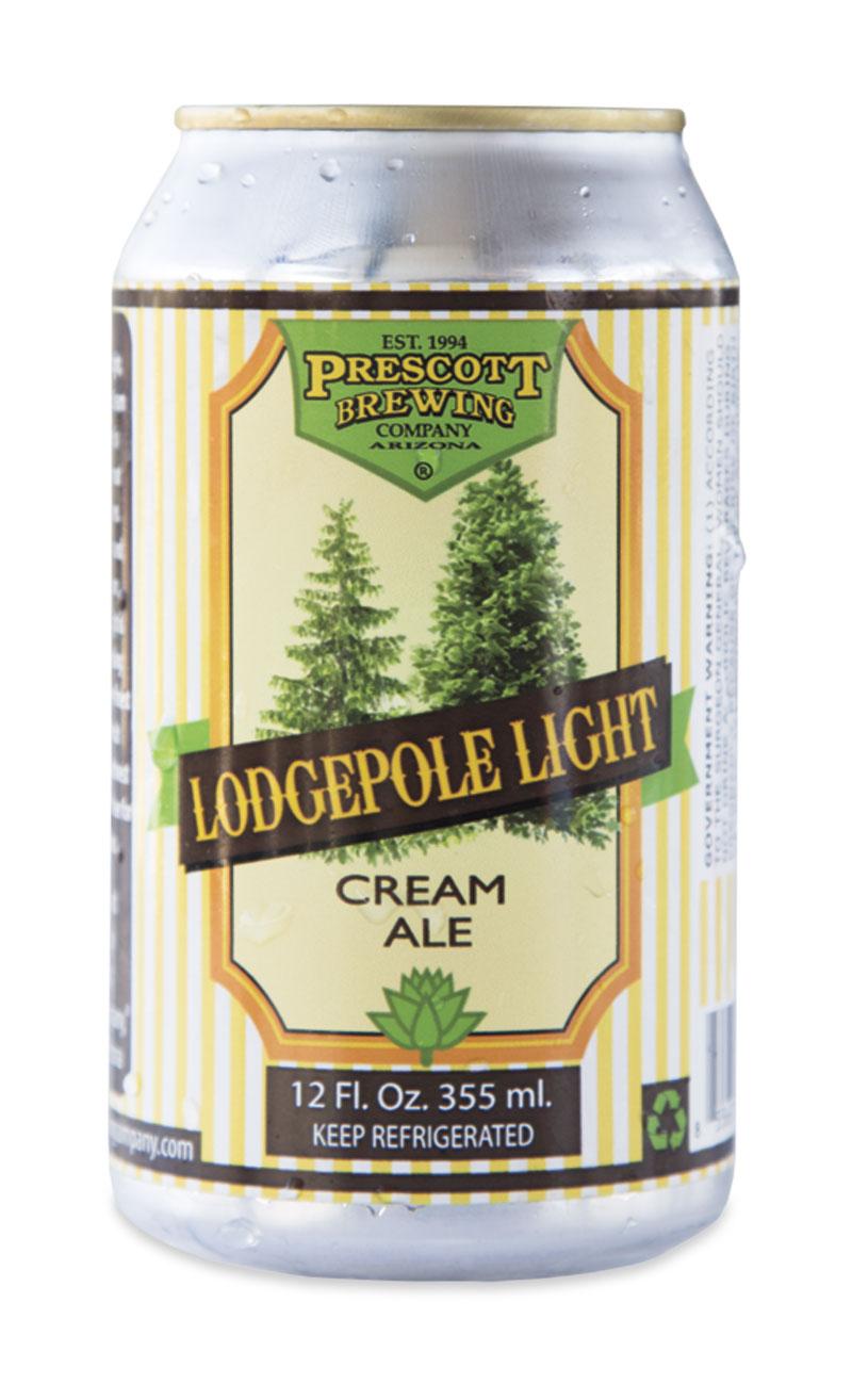 Prescott Brewing Company  Lodgepole Light