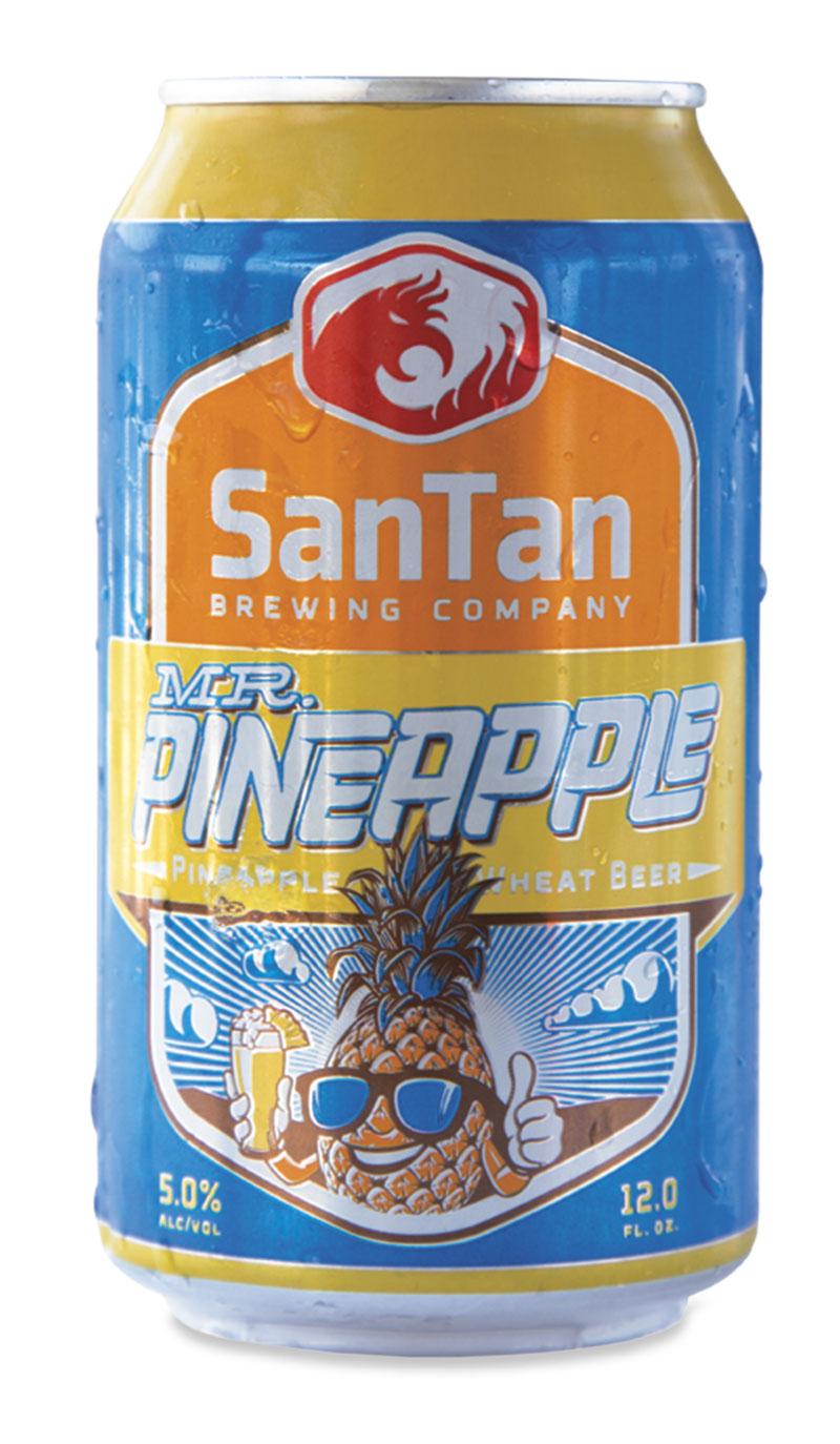 SanTan Brewing Company  Mr. Pineapple