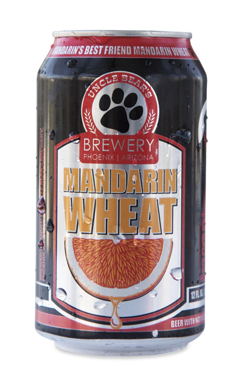 Uncle Bear's  Brewery Mandarin Wheat