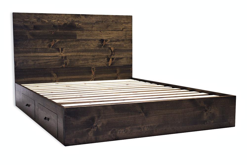 $2,799, Kingman Bed Frame; photo courtesy Pereida–Rice woodworking
