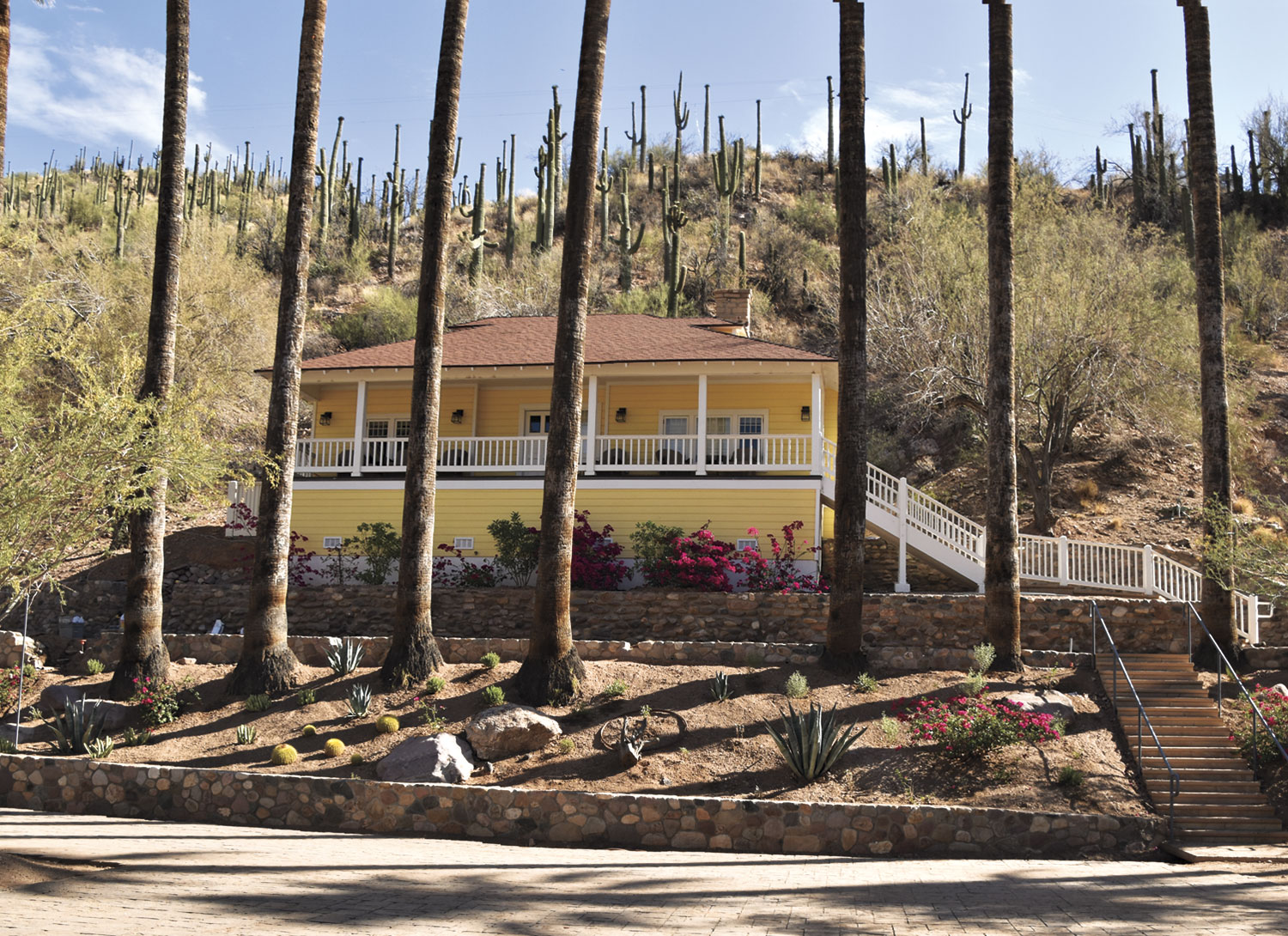 the renovated Historic Cottage; photo courtesy Graving Haven/Castle Hot Springs